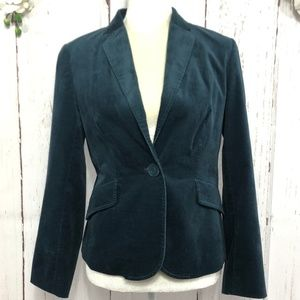 TALBOTS LONG SLEEVE SUEDE JACKET SIZE 6P